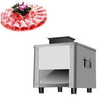 110V / 220V Elétrica Casa Comercial Shredded Grinder Pequeno Slicer de Carne de Aço Inoxidável 850W