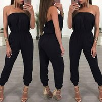 Womens Bandage Evening Party Playsuit Ladies Romper Long Jum...