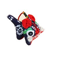 Wangwang Tiger Panno fatti a mano Regalo di vento cinese per inviare stranieri andare all'estero piccoli regali di studio decorazione della decorazione della casa della casa della casa decorativa