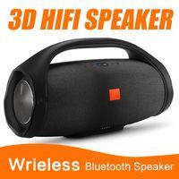 لطيفة الصوت boombox بلوتوث المتكلم countd 3d hifi مضخم الصوت يدوي المحمولة مضخم صوت ستيريو مع صندوق البيع بالتجزئة