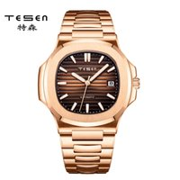 Tesen Design-Reloj Pulsera Hombre, De Lujo, Mecnico, Deportivo, Automtico, Résistente Al Agua, ST2130, Reloj Para Hombres