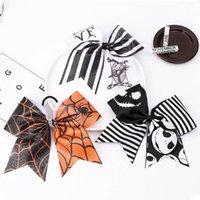Muchachas Accesorios para el cabello Corbata Bandas de Hair Bandas Diademas Niños Niños Halloween Arco Anillo Adorno Bebé Tiara Scrunchies B7904