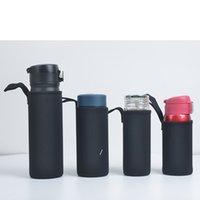 Portable Neoprene Beer Beverage Cooler Sleeve Holder Glass Bottle Cover Bag Outdoor Sports Travel Water Bottle Tote Cup Cover HHE6426