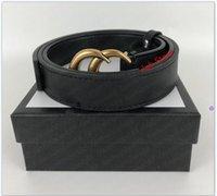 985fashion كبير مشبك جلد طبيعي حزام لا مربع مصمم الرجال النساء جودة عالية رجل belts22