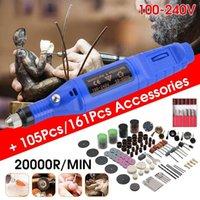 Professiona Electric Drills 161Pcs 105Pcs Nail Drill Machine Kit Adjustable Speed Art Pen Pedicure Mini File Tools