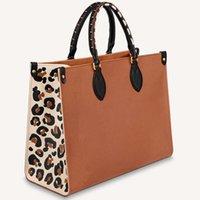 2021 핸드백 지갑 쇼핑 재사용 가능한 지갑 레오파드 양각 패턴 패션 숄더 가방 접이식
