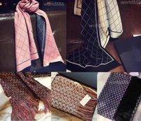 Sciarpe di moda donna scialli lussuosi all'ingrosso sciarpe di alta qualità sciarpa spessa in inverno 5 colori