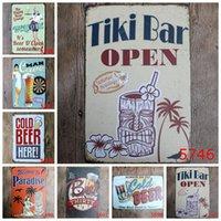 Estanho sinal café cão gato óleo cerveja ovo vintage sinais casa decoração café bar placas pub decorativo metal parede arte pintura jja223