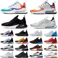 270 React Running Shoes Mens Womens trainers Bauhaus Triple ...