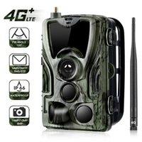 Caméra sauvage HC-801LTE 4G 16MP 1080P Caméra de chasse SMS / MMS / P pièges photo 0.3s Temps de déclenchement Temps Temps faune
