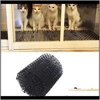 Carrierscrates منازل حديقة شرفة antitog antidog scat حصيرة البلاستيك الوخي صافي حفر سدادة ابق القط الكلب بعيدا hyd88 cajep sko82