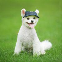 Fashion Pet Sun Hat Dogs Cat Baseball Cap Puppy Dog Cappelli Accessori per copricapo