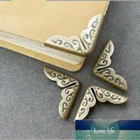 Antiguidade Livro de Metal Livro Corners Protetores de Canto Proteção de Canto Scrapbooking Menus Pastas de Bronze Tom Craft Ferramentas