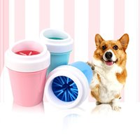 Dog Cleaner Cup Soft Silicone Combs Portable Pet Foot Washer Clean Brush Quickly Wash Dirty Cat Cleaning Bucket Travel & Outdoors