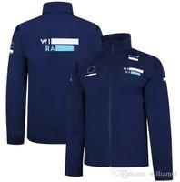 2021-F1 Racing Team Williams Jacket Zip Jacket da uomo Maglione a maniche lunghe in downhill Jersey può essere personalizzato