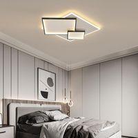 Avizeler Mdwell Minimalizm LED Avize Aydınlatma Oturma Odası Yatak Odası Çalışma için Altın / Siyah / Beyaz DIY Tavan