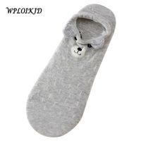 Socks [wploikjd]fashion Stereo Ear Cute Rabbit cow Pattern Fuzzy Women Sos Comfortable Soft Meias Feminina Ship Calcetines