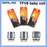 TFV8 Baby-Spulenkopf V8 Ersetzen T8 x4 M2 Q2 0.4Ohm für Cloud Biest-Tank