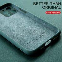 For Mi 11 Cover Case for Xiaomi 11 lite 10T Poco F3 M3 X3 Pro GT Redmi Note 10 9 9T Original Liquid Silicone 11