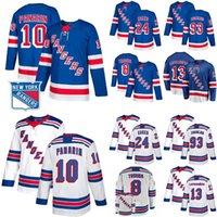 New York Rangers Jersey 24 Kaapo Kakko 10 Artemi Panarin 30 Henrik Lundqvist 27 Ryan McDonagh 23 Adam Fox Nash Skjei Mika Zibanejad Wayne Gretzky NY Hockey Jerseys