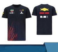2021-F1 Stite da gara Team Verstappen T-shirt a maniche corte in poliestere Asciugatura in poliestere Può essere personalizzato