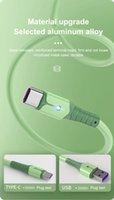 액체 실리콘 5A Super Fast Charge 마이크로 USB 형 C 케이블 삼성 S20 S10 충전 와이어 데이터 용