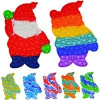 Decompression Finger educational toys Santa Claus mental arithmetic push bubble parent-child interactive board game spot toy