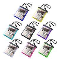 Large Clear Beach Tote PVC Swim Jelly Bags Sports Shoulder Waterproof Handbag Y3NE Cosmetic & Cases
