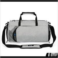 Yoga Bags Gym Bag Dry And Wet Separation Cylinder Sports Backpack Outdoor Shoulder Rucksack Hand Messenger Pack Travel R3Gwq 0Keyj