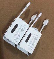 삼성 갤럭시 S10 노트 10 플러스 지원 빠른 충전 코드를위한 원래 USB Type-C