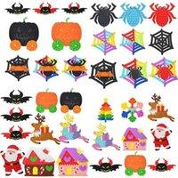 Fidget Halloween Spielzeug Pioneer Demon Schneeflocke Spinne Nähte Weihnachtsbaum Kinder Desktop Puzzle