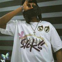 Dice t-shirt homens mulheres bordadas camiseta T Tops Tee 210420