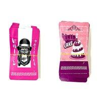쿠키 가방 냄새가 높은 지퍼 잠금 장치 가방 3.5gram 3.5 그램 mylarbags 웨딩 케이크 핑크 화이트 고릴라 jllzaf