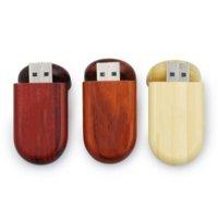 Promotional Gift Ecofriendly USB Flash Drives Wooden USB2.0 Pen Drive 1g 4g 8g 16g 32g 64g