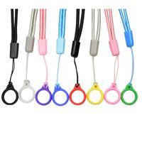 Cuerda de cordón con lanyards de anillo de silicona de goma de 13 mm para sostener la cuerda del collar de la correa del cuello del dispositivo de la vaina para los cigarrillos electrónicos desechables de la vaina ECIV