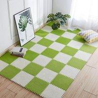 """카펫 Didihou 1PC 아기 놀이 매트, EVA 거품 어린이 """"S 러그, 거실 침실 어린이 키즈 소프트 카펫 층 퍼즐 카펫, 각 30x30cm"""