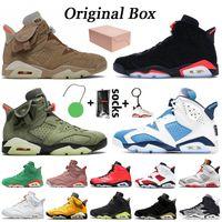 Nike Air Jordan 6 6s retro 6 Jumpman Travis Scott 6 6s cactus donne jack mens scarpe da basket Hare 6 DMP Infrared nero Oregon Ducks mens formatori scarpe da ginnastica