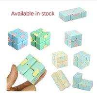Студенческие дети Push Divet Bubble игрушки дети бесконечный кубик кубик кубик кубик из кубики пластиковые кости без ограничений