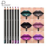 Cores / Kit Lips Makeup Matte Labelo Liner Silky Mate Lápis Perfeito Shaping Lipliner Pen compõem Lápis de Cosméticos