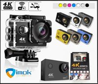 HD 4 K Wift Eylem Kamera Vedio Dijital Kamera 30 M Spor DV 2.0 Inç Ekran 720 P Su Geçirmez Helemt Cam