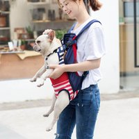 Dog Car Seat Covers Backpacks 1PC Breathable Canvas Front Chest Pack Out Travel Bag Durable Puppy Accessories Pet Backpack Carrier