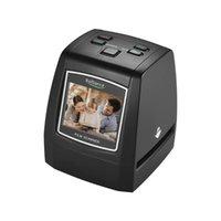 """عالية الدقة 2.4 بوصة 2.4 """"LCD 14MP / 22MP فيلم ماسحة تحويل اللون أحادي اللون الشريحة سلبية في ماسحات الضوئية"""