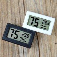 Mise à jour de thermomètre à écran LCD numérique intégré Hygromètre Testeur d'humidité Testeur de réfrigérateur Réfrigérateur Moniteur HWB8439