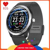 KOSTENLOSER MNWT NEUE N58 Uhr EKG PPG-Farbanzeige Smartwatch-Überwachung Herzdruck IP67 DIP67-DIP67 Wasser-Smart-Armband