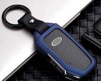 Tasca per conchiglia in lega galvanzata per auto Tasca per Kia Sportage Ceed Sorento Cerato Forte 2021 Smart Fob Case Accessori Portachiavi