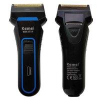 Kemei 2 Blades Electric Razor Shavers para hombres de afeitar recargables cortadoras portátiles cortador D401
