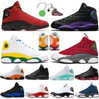 2021 Lüks Jumpman 13 Mahkemesi Mor Kırmızı Flint Erkek Basketbol Ayakkabıları Hiper Kraliyet Şanslı Yeşil Ters Gelişi Tasarımcı 13 S Bayan Eğitmenler Spor Sneakers Boyutu 47