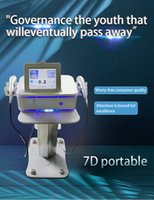 2021 Portable High Intensity Wrinkle Removal and face lifting Focused Ultrasound 7D Hifu 4D 3D 2D smas facial machine