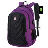 Backpack 2021 Multifunctional EVA Protective Case 15 Inch Laptop USB Charging Port Travel Bag Waterproof School Bookbag