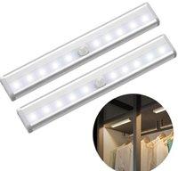 Lightinlights de escadas para cozinha casa inteligente inteligente corpo de indução lâmpada de armário conduzido quarto de cabeceira usb luz noite pequena